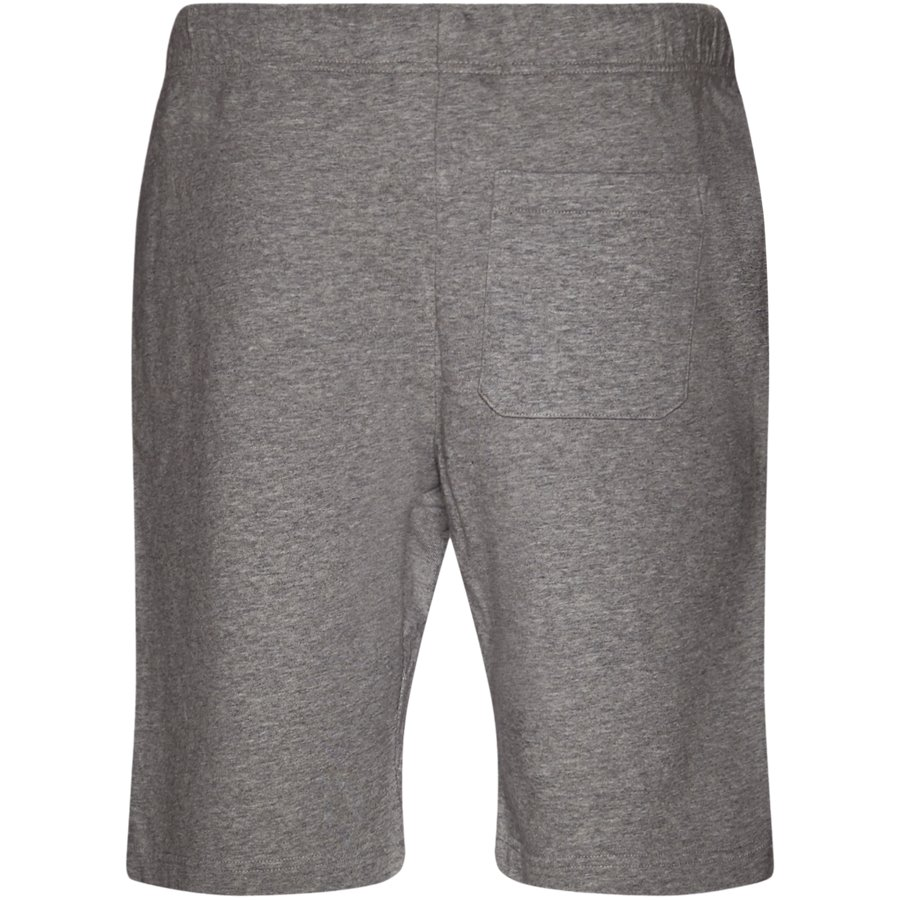 COLLEGE SWEAT SHORT I024673 - College Sweat Shorts - Shorts - Regular - GREY HTR/WHITE - 2